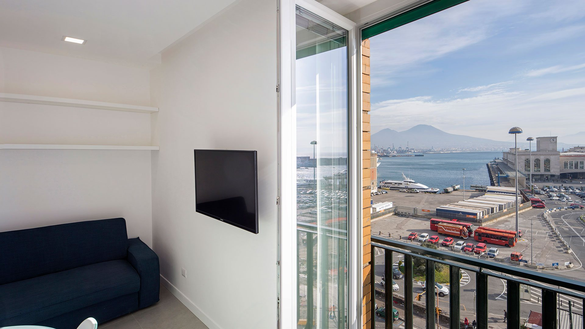 Naples Studio Apartment Seaview holyday business Napoli appartamenti